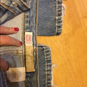 Faded glory jeans.